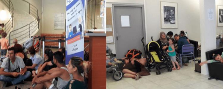 Une exilée perd son enfant, faute d'accès à un toit et à des soins