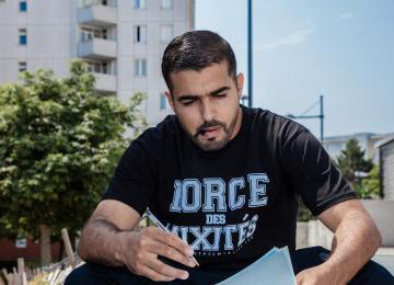 Rap, foot et dictées XXL : les bonnes recettes d'Abdellah Boudour