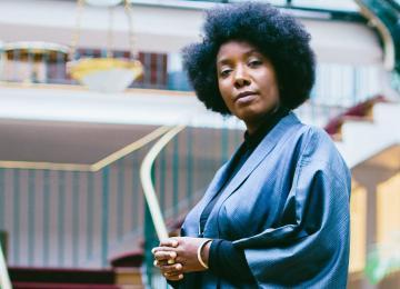 Amandine Gay ne veut plus qu'on parle à la place des femmes noires