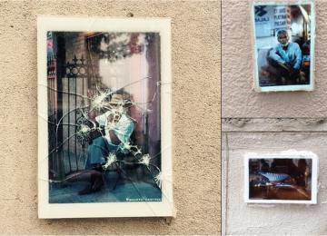 #Backtothestreet : des photos cimentées sur les murs, et Paris devient une galerie géante