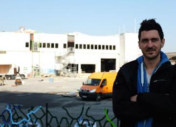 Visite guidée du camp de réfugiés de la Chapelle avec son architecte Julien Beller
