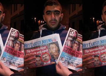 Brahim Ouanda, l'innocent accusé de terrorisme en une de deux quotidiens belges