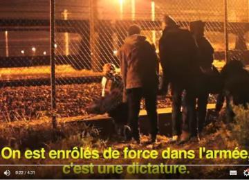 Vidéo : barrières et policiers, l'impossible passage des réfugiés vers l'Angleterre