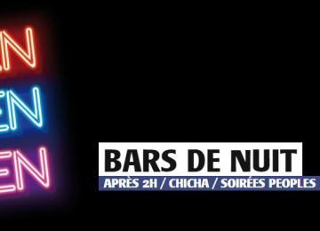 Le guide des bars de nuit à Paris