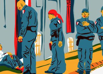 Coup de pied, de tête et de taser : un nouveau cas de bavure policière au commissariat du Raincy