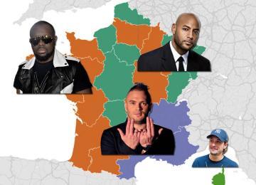 Google sait quel est le rappeur préféré de ta région