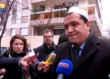 L'imam Chalghoumi, critiqué jusque dans sa mosquée