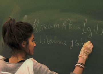 « Écrire Liberté », une année à l'école des exilés