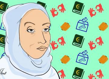 Pour lutter contre l'islamophobie, elle se présente aux législatives dans le 93