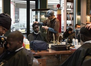 Le Barber Shop des stars de Paname