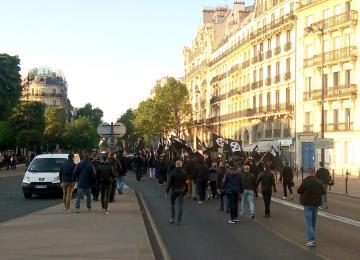 Le GUD défile dans Paris
