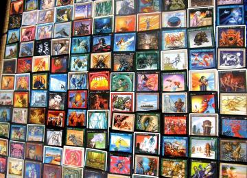 A Jussieu, le petit marché des cartes Magic