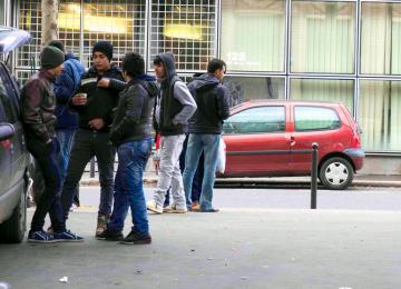 A Paris, les mineurs sans-papiers passent l'hiver dehors malgré le plan de la mairie