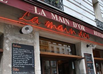 Le restaurant corse « La Main d'Or » s'inquiète de l'expulsion de son voisin Dieudonné