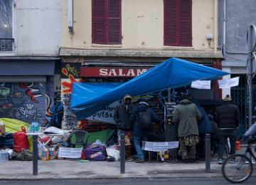 La mairie de Montreuil expulse un squat par moins 5 degrés