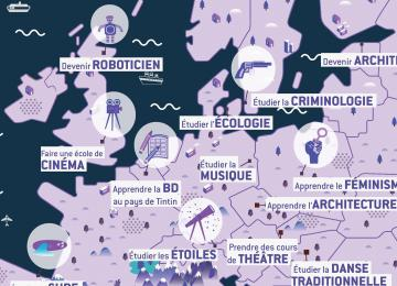 Les 20 formations les plus cools d'Europe ouvertes aux Français