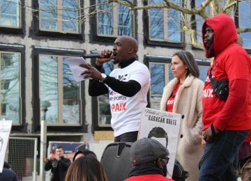 La famille de Gaye Camara, tué par un policier, dénonce les lenteurs de la justice