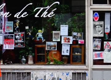 Au Thé-Troc, pionnier de la BD indépendante à Paris