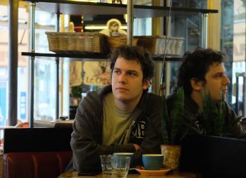 Maxime Lelong, organisateur de la marche pour le climat et red' chef de média indépendant