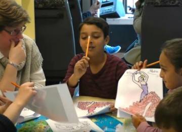 Docu Vidéo : À Molenbeek, des enfants syriens retournent sur les bancs de l'école