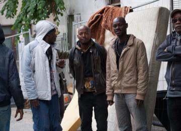 Paris 20e : Un squat d'artistes africains vidé par la police