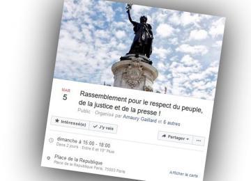 Contre Fillon et Le Pen, manif place de la République dimanche