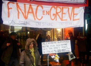 Gros bras et huissiers : Quand la Fnac fait pression sur ses grévistes