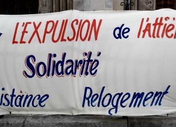 A Saint-Denis, les habitants du squat l'Attiéké attendent l'expulsion avec amertume