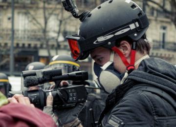 Gaspard Glanz, le journaliste préféré de la génération Nuit Debout