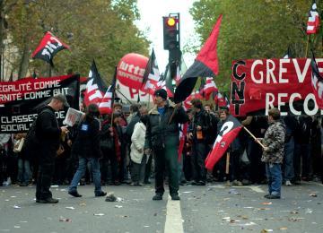 La carte de la gauche alternative à Paris