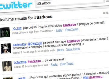 Biolay-Bruni: 140 signes sur Twitter qui pourraient coûter cher à leurs auteurs