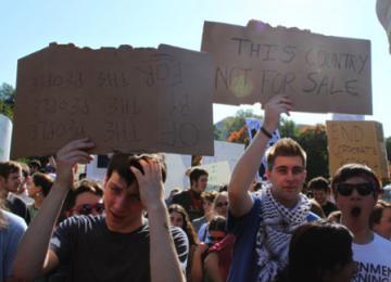 A Boston 10.000 «indignés» dans les rues