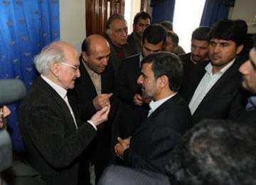Exclu : Les photos de vacances de Robert Faurisson en Iran