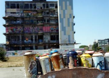 Pantin : 41.000 m2 de graff en attendant un port de plaisance