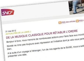 Suite aux révélations de StreetPress, la SNCF supprime un post de blog compromettant