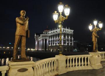 Statues géantes et architecture kitsch : Bienvenue à Skopje