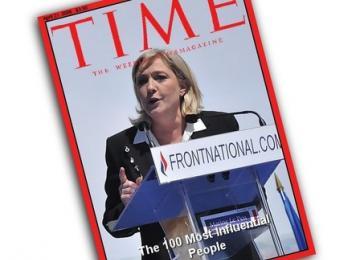 Comment le FN a essayé de faire rentrer Marine dans le Top 100 de Time Magazine