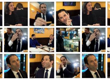 L'interview kebab de Benoît Hamon