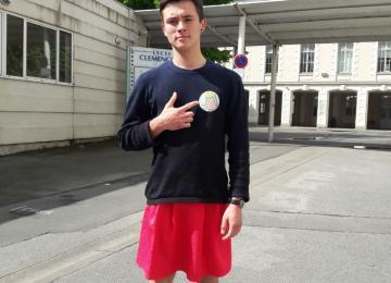 La manif' pour tous n'empêchera pas les lycéens de porter une jupe aujourd'hui