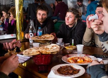 Le Khyber Darbar, dernier restaurant de la jungle