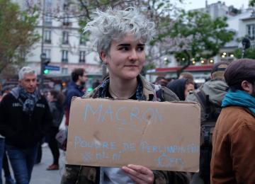 « Macron, démission ! » : après le second tour, la gauche radicale se prépare au combat