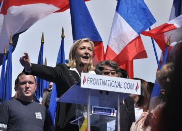 Au meeting de Marine Le Pen, on n'aime toujours pas les juifs