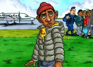 Air Sans Pap' : quand l'Etat affrète un jet privé pour vider Calais