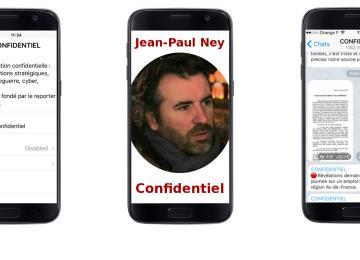 Une semaine sur la chaîne Telegram de Jean-Paul Ney
