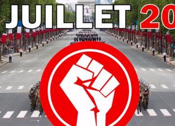 Le 14 juillet, ils veulent marcher sur l'Elysée