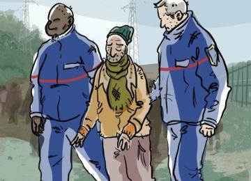 Calais : Assos et exilés attaquent l'état et la police en justice