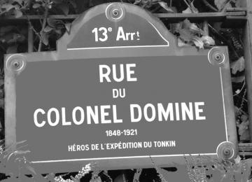 200 rues parisiennes rendent hommage à la colonisation et c'est inadmissible