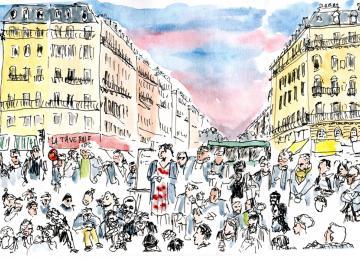 La Nuit Debout racontée en dessins