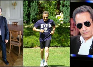 Mohamed, 58 ans, est sosie de Nicolas Sarkozy