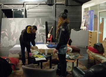 À La Villette, un nouveau squat dans un ciné rétro-futuriste